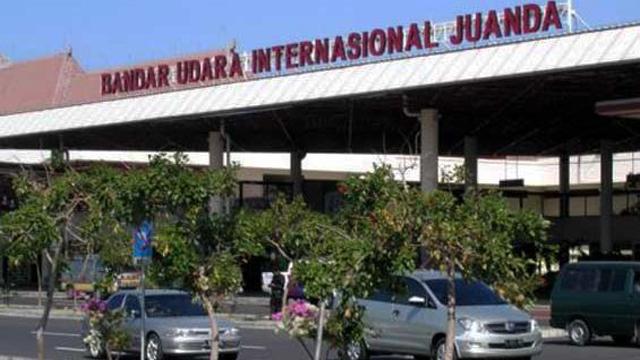 Suasana di Bandara Internasional Juanda