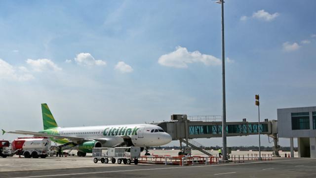 Maskapai Citilink di Bandara Kertajati