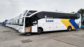 Bus Damri - travel.kompas.com
