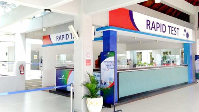 Layanan Rapid Test di Bandara Bali - www.nusabali.com