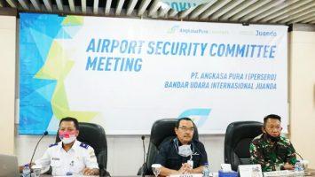 Air Security Committee Meeting (ASC Meeting) Bandar Udara Juanda - surabaya.liputan6.com