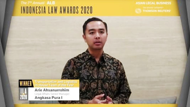 Indonesia Law Awards 2020 - ekonomi.bisnis.com