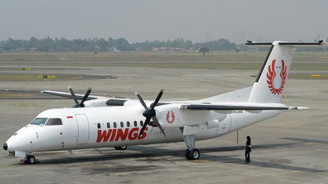Ilustrasi : Pesawat Wings Air