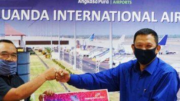 Bandara Juanda Salurkan Pinjaman Kemitraan - jatim.tribunnews.com