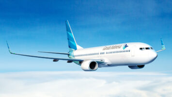 Pesawat Garuda Indonesia - landor.com