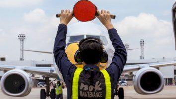 Ilustrasi : Parkir Pesawat Terbang